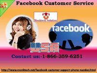 How To Effectively Use Facebook Customer Service? 1-866-359-6251