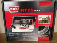 Buy NEW WARN RUGGED TERRAIN 25 RT25 ATV WINCH 2500# 50FT AIRCRAFT-GRADE WIRE ROPE motorcycle in Sterling, Ohio, United States