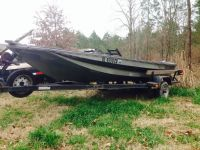 Reduced Fiberglass Boat and Trailer