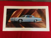 Buy 1968 CHEVY IMPALA CUSTOM COUPE SHOWROOM POSTER SS 327 350 396 427 ss396 ss427 GM motorcycle in Union Grove, Wisconsin, United States, for US $149.68