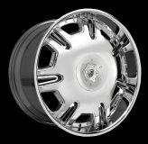 "Purchase Lexani 24"" Radiant Wheels Tires Black Chrome Dodge Magnum V6 V8 SRT8 motorcycle in Victorville, California, US, for US $2,899.00"