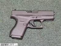 For Sale: Glock 42 .380 ACP. Good as new!!!