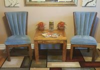 Table and 2 chairs $40