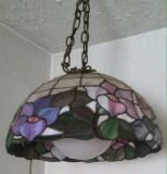 STAIN GLASS HANGING LAMP