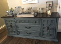 Solid Wood Refinished Buffet