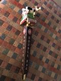 "Long Trail Double Bag Figural Tap Handle Never Used, No Box 14"" Hard to Find"
