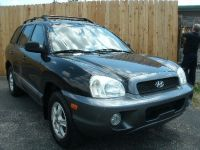 2001 Hyundai Santa Fe 4dr SUV GLS Auto