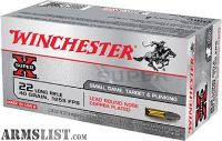 For Sale: Winchester Ammo X22LR Super-X 22 Long Rifle 40 GR Lead Round Nose 50 Bx/ 100 Cs