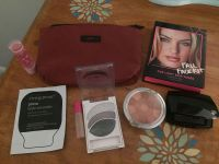 Asst make up lot. Some brand new/some just sampled with brand new bag. All great deal $8
