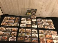 Caterpillar NOS Collector Trading Cards in Protective Sleeves - Mostly Series 1 (1993 - Earthmovers) & Series 2 (1994)