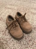 Boys size 10 leather/suede shoes - great condition