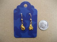 Gold Nugget Earrings - Valentines Day ?