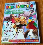 Mary Beth's Beanie World Monthly Magazine Vol. 1 No. 6 August 1998