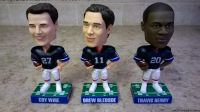 2004 LIMITED EDITION BUFFALO BILLS BOBBLEHEADS-SET OF 3