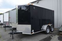 2017 Other New 6x12 Tandem Axle VNose Enclosed Trailer