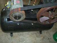 AIR COMPRESSOR, 5 HP-3PHASE-APPROX 50 GAL