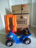 Little Quad Ride on and Rails. Little Tikes. Power Wheels