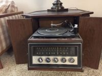 Stereo and record player