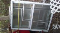 Mobile home storm windows
