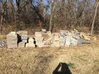 Lot of NEE Mix Matched Hardscaping Stone