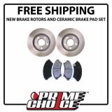 Find PREMIUM FRONT CERAMIC BRAKE PADS AND DISC ROTORS COMPLETE KIT LEFT & RIGHT PAIR motorcycle in Augusta, Georgia, United States, for US $69.99
