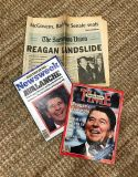 Reagan Elections Magazine/Newspaper Collection