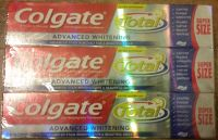 Six-pack Colgate whitening toothpaste supersize 7.6 Oz per tube