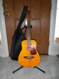$120, Acoustic Yamaha guitar