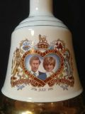 Charles and Diana - Bells Scotch bottle