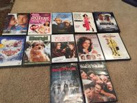Dvd's sold separately or as a bundle-$2 individually or $12 for set of 12 movies-EUC-PPU in Milton