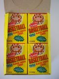 NEW Lot of 4 (60) Fleer Basketball 5th Anniv NBA Trading Cards Wax Packs SEALED!