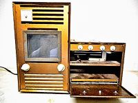 Toy Metal electric Stove Oven Argo Industry