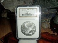 2008 P Silver Dollar Bald Eagle NGC MS 70 Perfect Coin