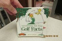 """""""Astonishing But True Golf Facts"""" Book - Gently Used"""