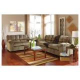 "Ashley ""Julson"" 7pc living room set Incudes Sofa/Loveseat 3 piece coffee table set and 2 lamps"