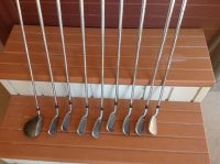 Set of Cobra irons and TaylorMade 3 wood