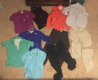 Columbia shirts and pants- all excellent condition