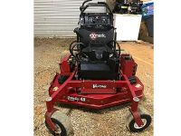 2013 VANTAGE COMMERCIAL STAND-BEHIND MOWER, 48IN CUT, ...