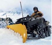 """Purchase WARN 60"""" ProVantage ATV SnowPlow Front Mnt Yamaha 09-11 Grizzly 550 4x4 motorcycle in Northern Cambria, Pennsylvania, United States, for US $488.95"""