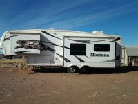 2006 Montana 5th wheel 29ft 55L 2 slide outs- new tires  battaries