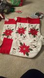 Nwt. Lot of for embroidered Christmas stockings
