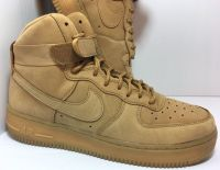 Nike Air Force 1 Flax Wheat 807617-200 Size 7Y