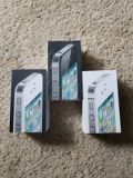3 Apple iPhone EMPTY Boxes