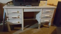 Free TV and Metal desk