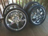 ChargerChallenger Tires and Rims
