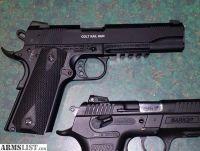 For Sale: Colt .22 rail gun 1911 govt tribute