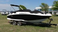 2016 Hurricane SunDeck 2200 OB Deck Boats Lewisville, TX