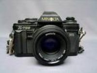 Vintage Minolta X-700 Mps Camera W/ Auto 280px Flash and