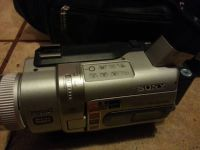 SONY Camcorder Video Camera with bag and accessories