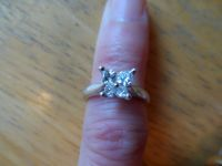 Ladies Platinum Diamond, 0.76 Carat Custom made Butterfly ring
